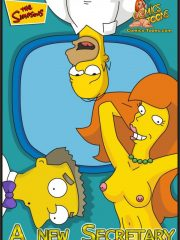 The Simpsons – A New Secretary