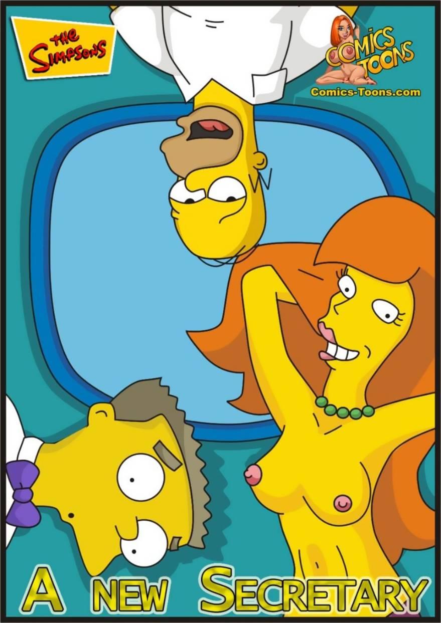 The Simpsons – A New Secretary
