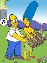 The Simpsons Porn – Homer And Marge