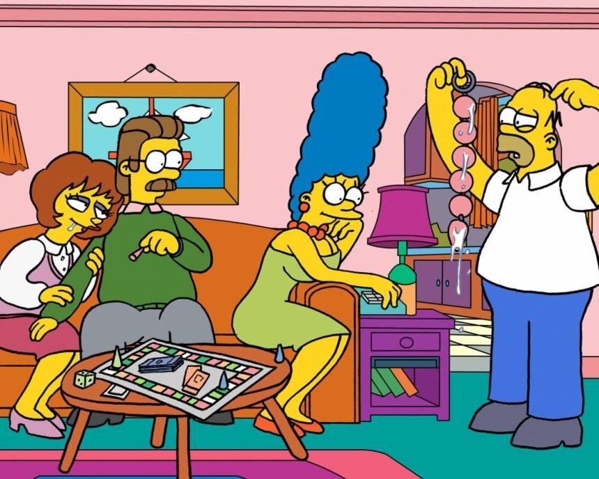 Симпсоны жаркий день комикс порно 23500 фотография