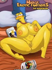 The Simpsons – Marge's Erotic Fantasies
