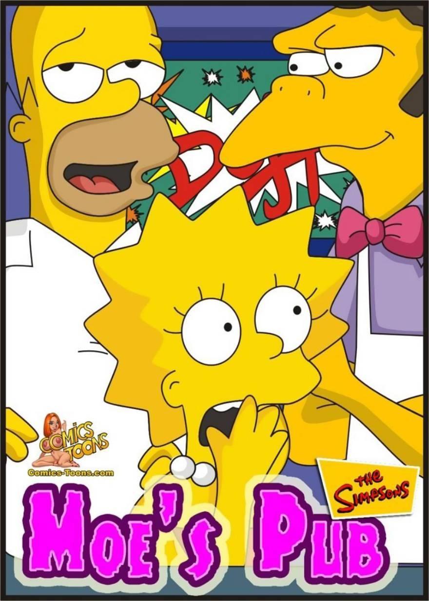 The Simpsons – Moes Pub