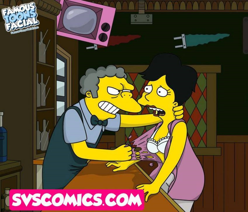 The Simpsons – Famous Toons Facial