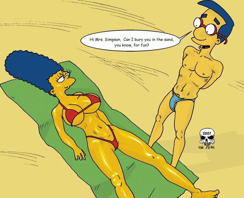 The Simpsons – Beach Fun