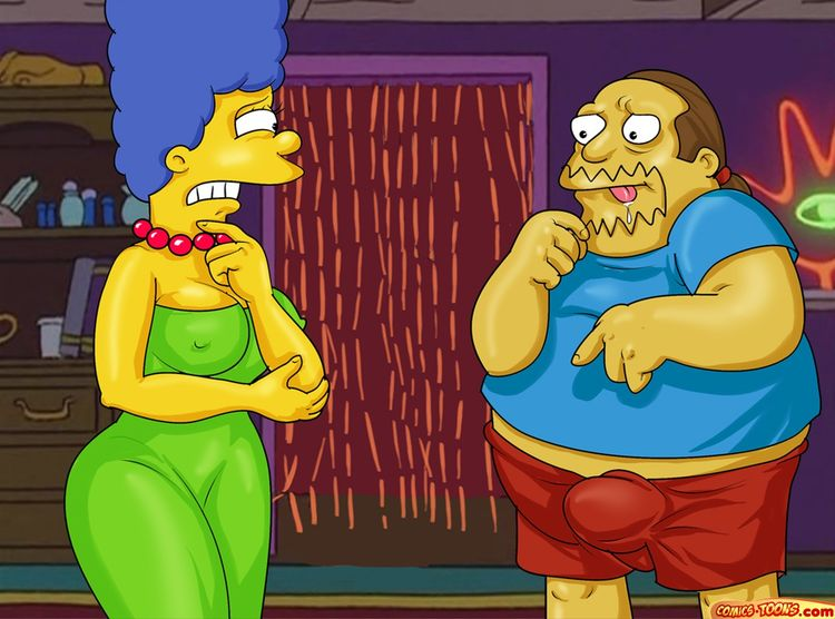 Homer, Marge and the Type of Cartoons