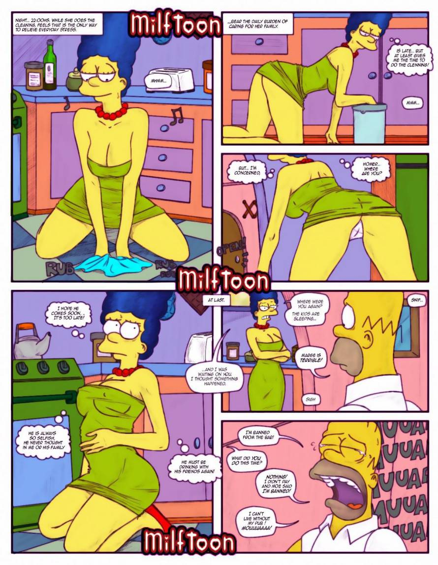 The Simpsons – Milftoon