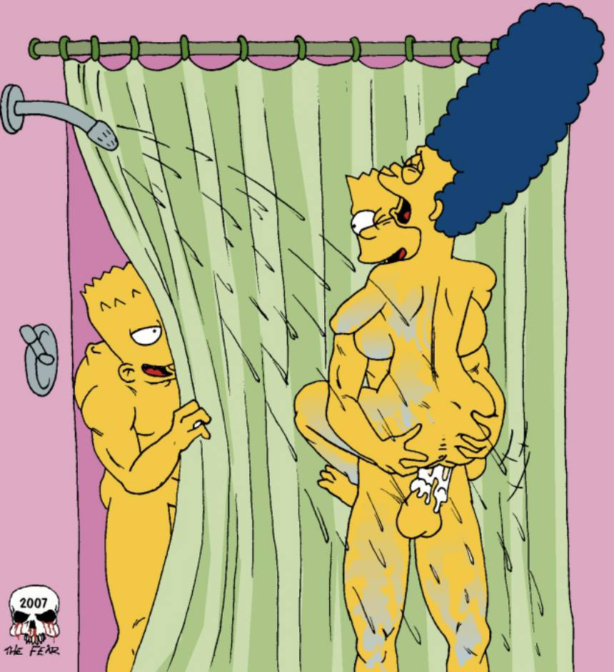 The Simpsons – Shower Fu