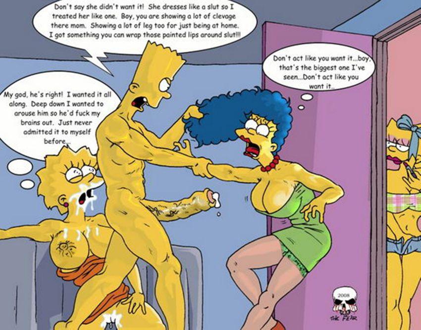 Симпсоны хентай порно комиксы