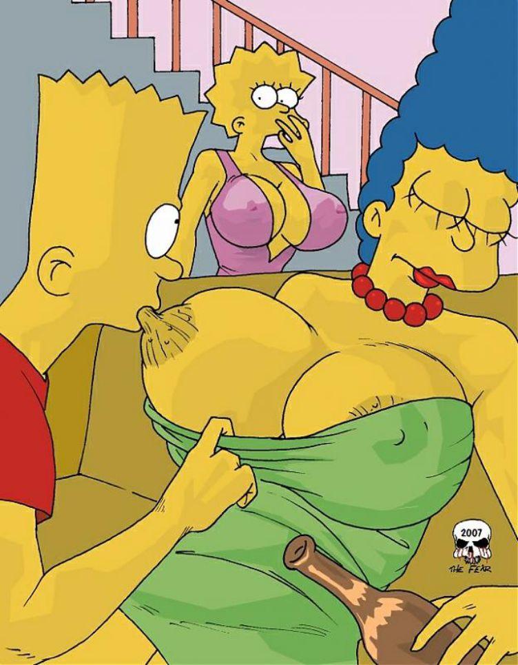 Порно комиксы симпсоны барт и мардж 76738 фотография