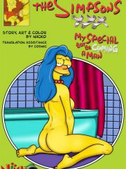 The Simpsons – My Special Boy Be cuming A Man