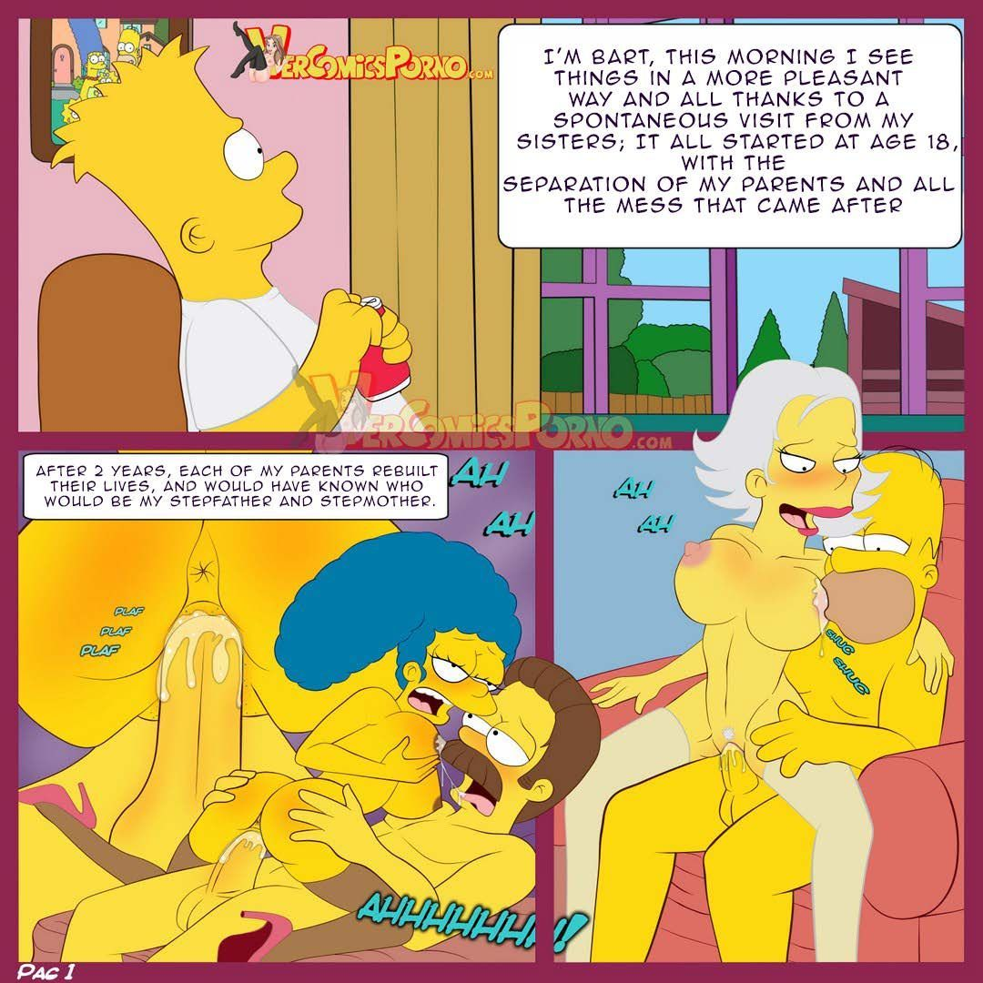 comic xxx simpsons The