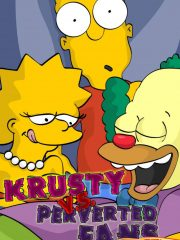The Simpsons – Krusty vs Perverted Fans