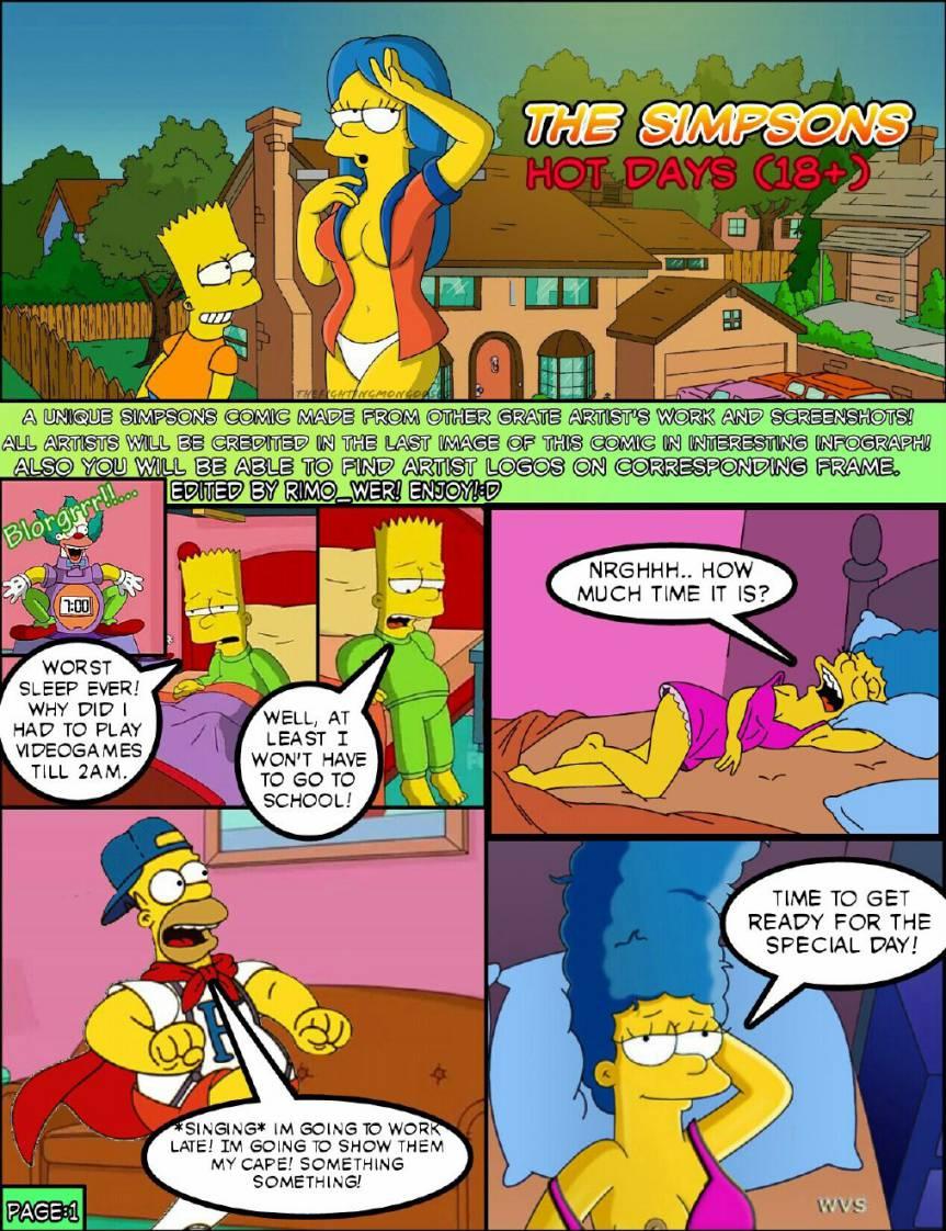 What excellent The simpsons porn comics good