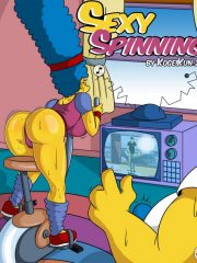 The Simpsons – Sexy Spinning