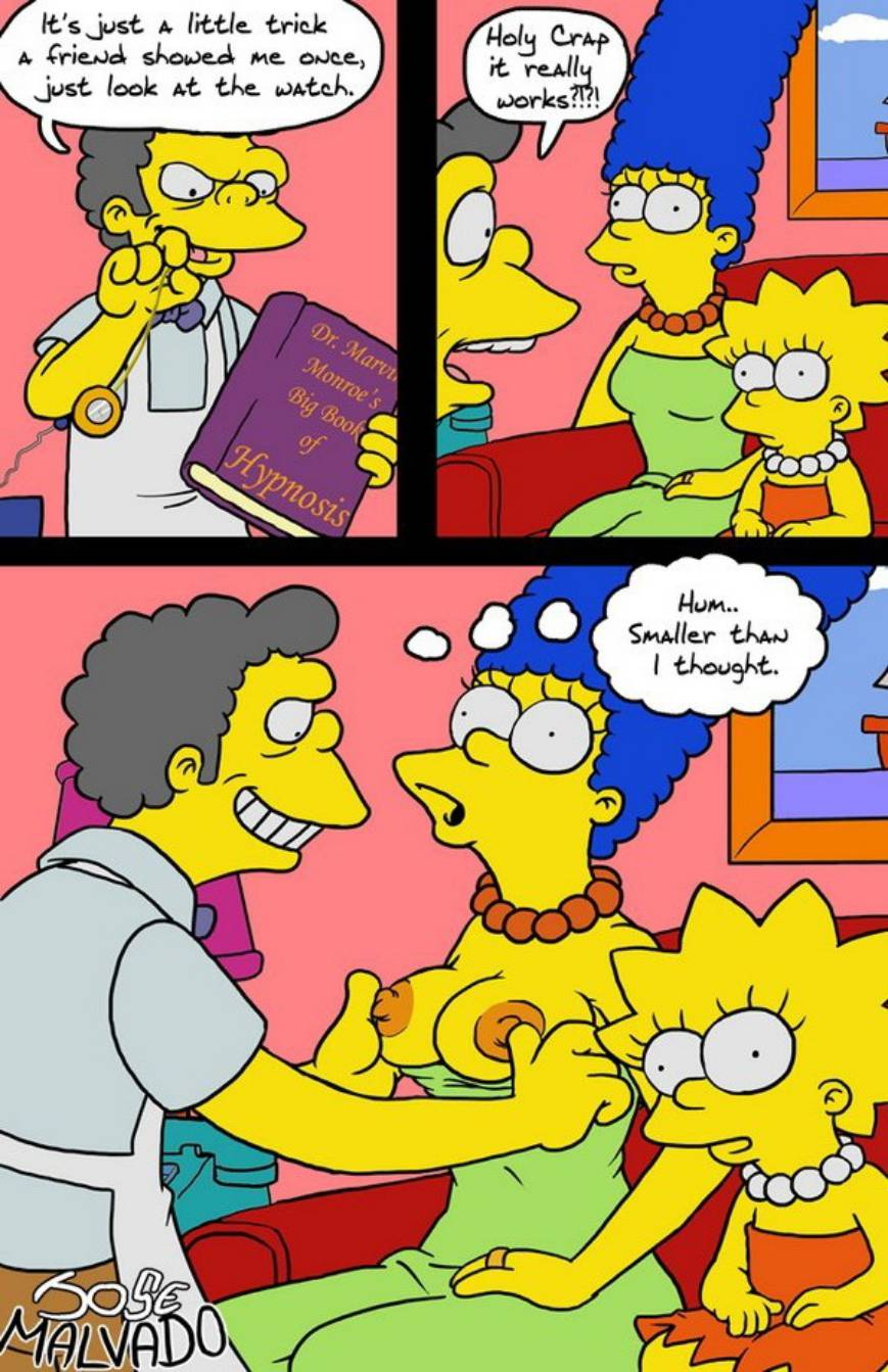 die simpsons porno comic