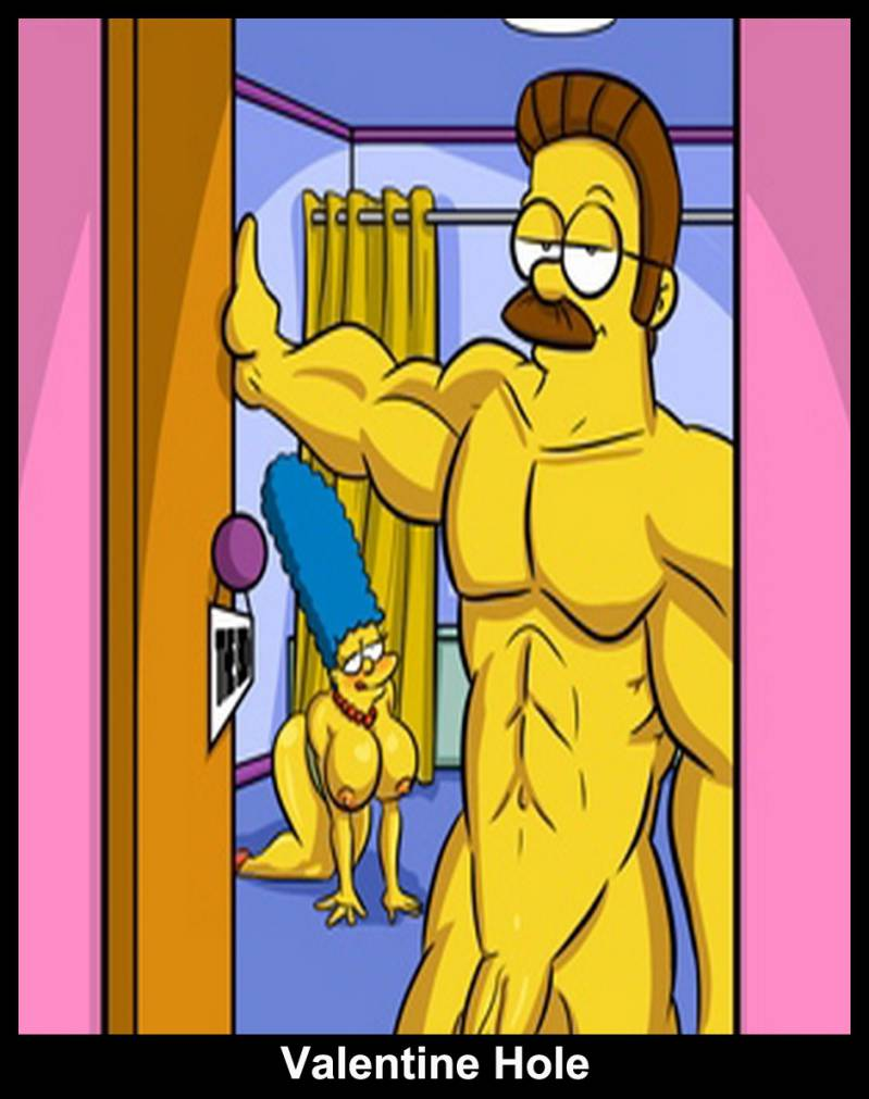 Bild simpsons nackt Edna Krabappel: