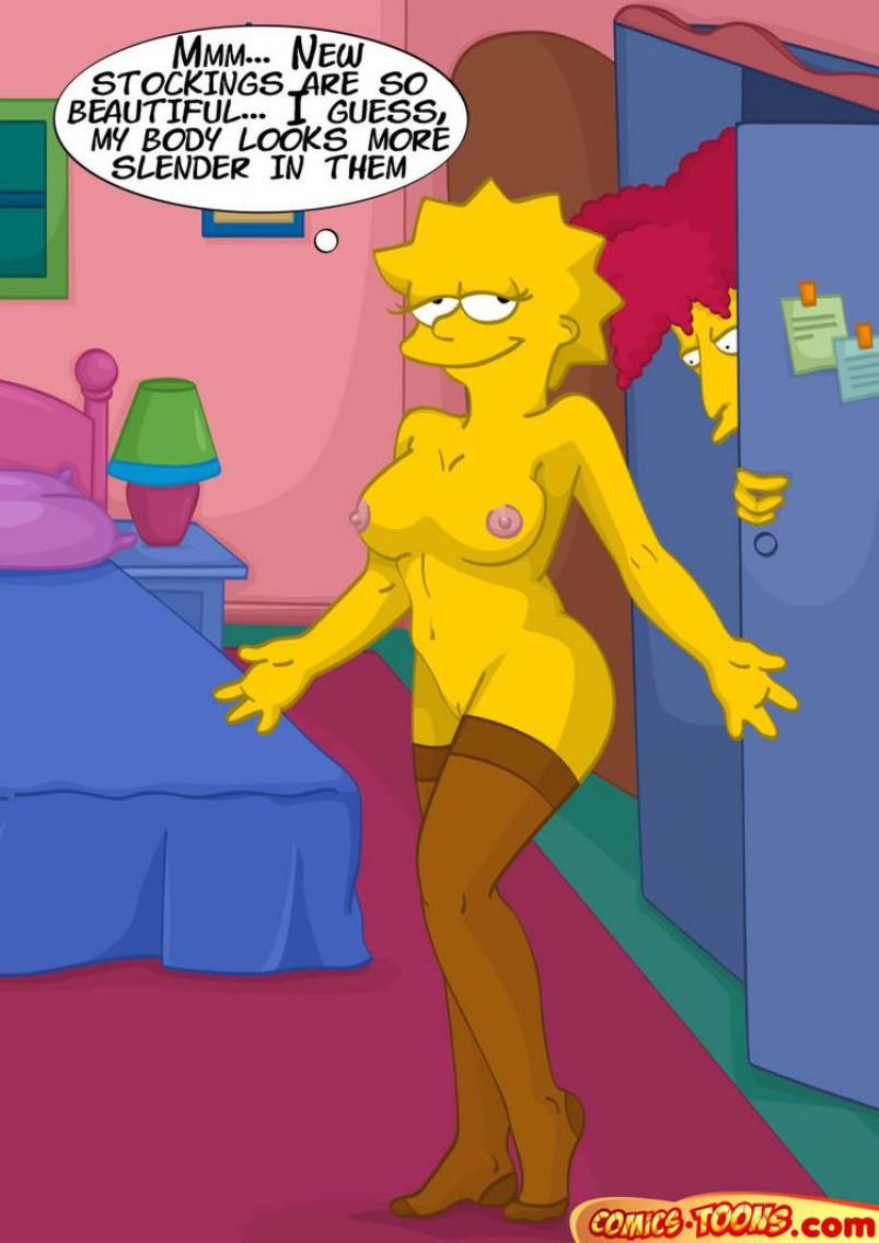 Simpson stockings marge