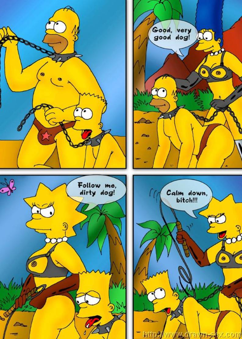 The Simpsons - Drawn-Sex - The Simpsons Porn