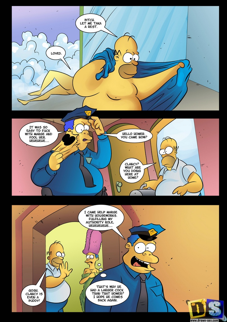 The simpsons porn cartoon poringa