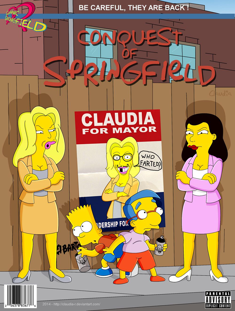 Conquest Of Springfield - Simpsons Porn